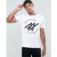 Jack & JonesGraphic T-Shirt - White