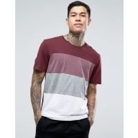 Jack & JonesLongline Cut and Sew T-Shirt - Red