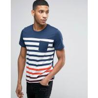 Jack & JonesLongline T-Shirt - Navy