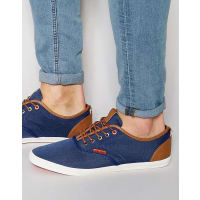 Jack & JonesSpider Canvas Plimsoll - Blue