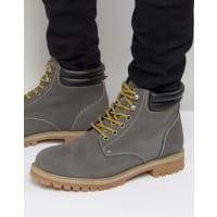 Jack & JonesStoke - Stiefel aus Nubukleder - Grau