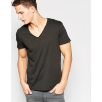 Jack & JonesOriginals V-Neck T-Shirt - Black