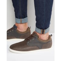 Jack & JonesVaspa Plimsolls - Brown