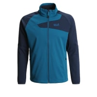 Jack WolfskinCHARGE Giacca softshell moroccan blue