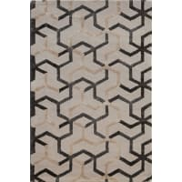 Jaipur5x8 Hand-Tufted Wool/ Art Silk Addy Rug