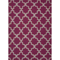 Jaipur9x12 Flat-Weave Wool Aster Rug