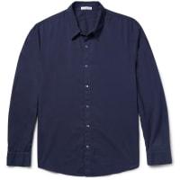 James PerseCotton-poplin Shirt - Navy