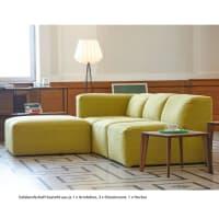 Jan KurtzDonna Sofa System Armlehne grauoliv