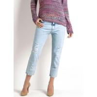 JanineCalca Boyfriend Jeans Claro