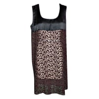 Jean Paul GaultierBlack & Brown Embroidered Dress