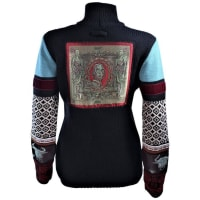 Jean Paul GaultierGuardians And Taurus Applique Sweater Size Medium