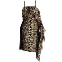 Jean Paul GaultierRare 1990s Vintage Jean Paul Gaultier Tarzan & Jane Leopard Dress