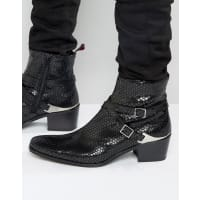 Jeffery WestManero Leather Jodphur Boots - Black