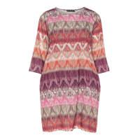 JetteGroße Größen: A-Linien-Kleid mit Print