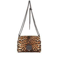 Jimmy Choo LondonLockett Petite Leopard bag