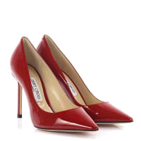 Jimmy Choo LondonPumps Romy 100 Lackleder rot