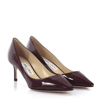 Jimmy Choo LondonPumps Romy 60 Lackleder bordeaux