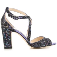 Jimmy Choo LondonWomens Shoes, Bluette, Glittered, 2016, 6 6.5 7 7.5 8 8.5 9