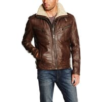 Joe BrownsHerren Jacke Double Your Dollar Leather Jacket