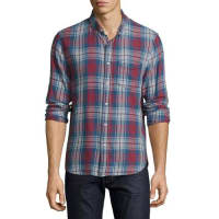 Joe'sPlaid-Print Flannel Shirt, Multi