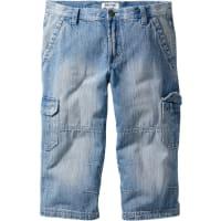 John Baner Jeanswear3/4 Jeans Regular Fit in blau von bonprix
