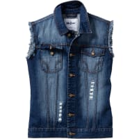 John Baner JeanswearJeansweste Regular Fit in blau von bonprix