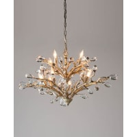 John-RichardBudding Crystal 10-Light Chandelier
