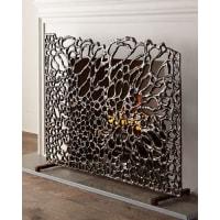 John-RichardOrganic Bronze Fireplace Screen