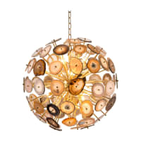 John-RichardSliced Orb 12-Light Chandelier