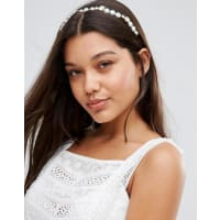 Johnny Loves RosieOrnate Gold & Pearl Headband - Gold