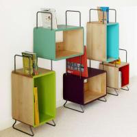 Jon RichardKids Carly Solid Wood Five Module Bookcase