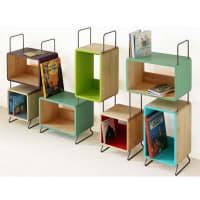 Jon RichardKids Sigmund Solid Wood Seven Module Bookcase