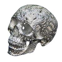 Joshua Harker3-D Crania Anatomica FiligreSilver