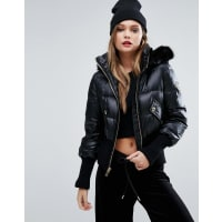Juicy CoutureQuilted Jacket - Pitch black