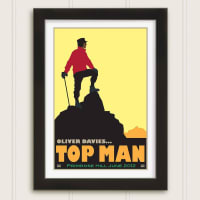 Just For YouPersonalised Top Man Celebration Print