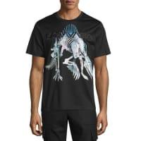 Juun.JSorayama Hajime Robot Dinosaur T-Shirt, Black