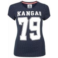 KangaroosT-Shirt blau