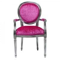 Kare Designsilla barroca Posh Silver Pink