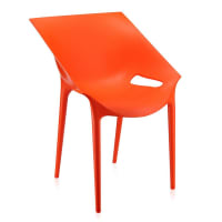 KartellDr. YES Chair - Orange Red