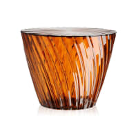 KartellSparkle Side Table - Amber