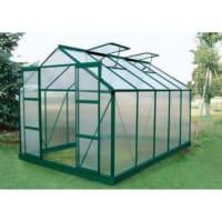 Venta-Unica.comInvernadero de jardín de policarbonato de 9 m² COROLLE II