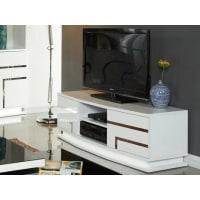 Venta-Unica.comMueble TV LUMINESCENCE IV - MDF lacado blanco y LEDs