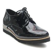 Kayla ShoesKayla shoes Damen Schuhe Halbschuhe Schnuerschuhe Sneaker LL86 Black 38