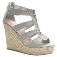Kayla ShoesKayla shoes Damen Schuhe Slingback Sandaletten LL55 Grey 41