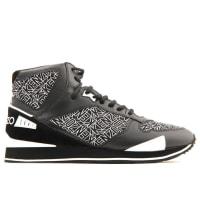 KenzoSoldes - Basket KENZO noir - Runmid Chaussures Homme