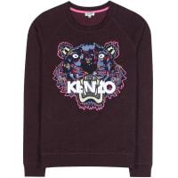 KenzoLogo-Sweatshirt aus Baumwolle