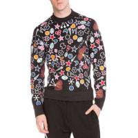 KenzoTanami Flower Printed Sweatshirt, Black