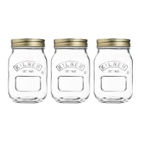 KilnerGlass Preserve Jars Set of 3 500ml