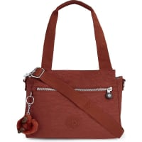 KiplingElysia Nylon Shoulder Bag, Womens, Red Rust