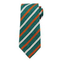 KitonGrenadine Striped Silk Tie